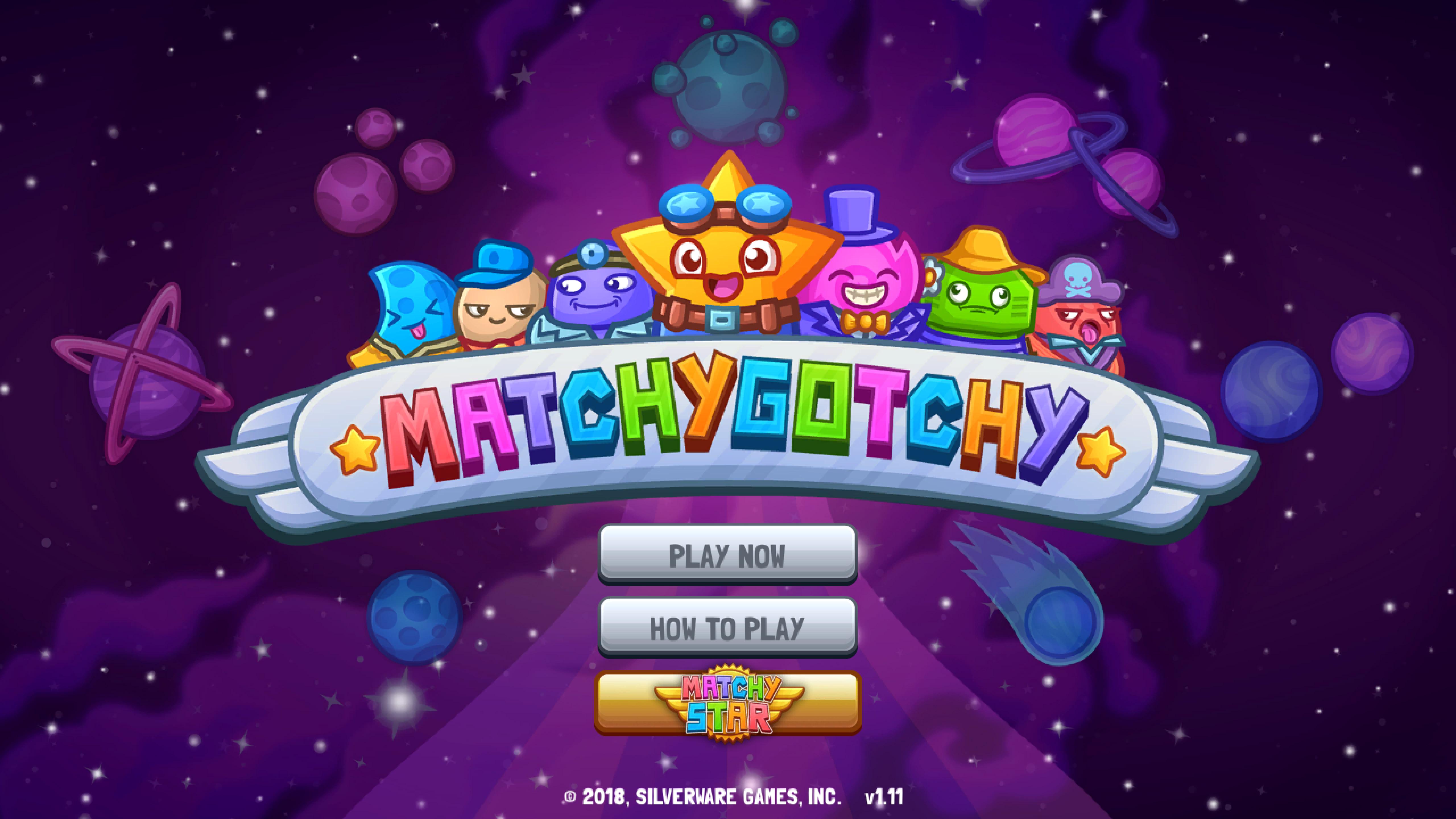MatchyGotchy Splash